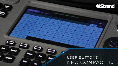 NEO COMPACT 10 User Buttons